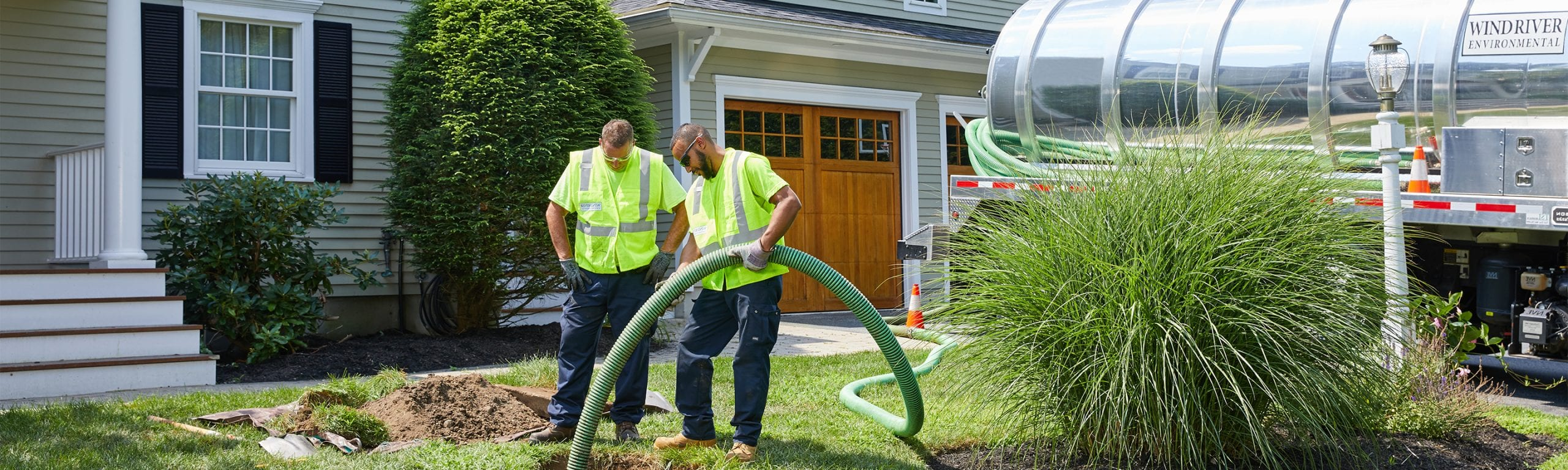 Residential Septic, Drain & Inspection Services